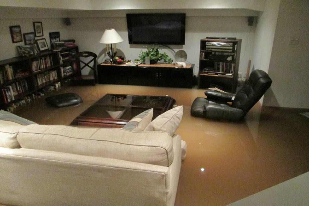 water damage contamination